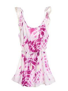 Ruffle-back Cover-up Dress