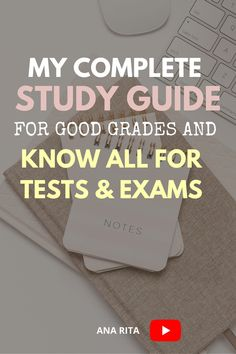 See ,y complete study guide and routine to ace all of my exams. I show you exactly how I study for each subject in order to know everything I need to know for tests and exams #studytips #howtopstudentsstudy Best Study Tips, Exam Study Tips, College Life Hacks, College Tips, High School Students, College Students, How To Retain Information, Test Exam, Note Taking Tips