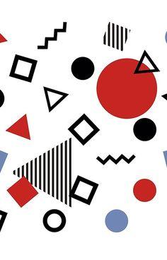 'Retro Memphis Design Pattern' iPhone Case by José Ricardo 90s Pattern, Pattern Art, Abstract Pattern, Pattern Design, 90s Design, Retro Design, Design Tech, Cindy Crawford, Memphis Design