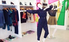 LOOK 1 - Jennifer Behr Turban $550.00 || Kenzo Vintage Jumpsuit £625.00 subject=Purchase Kenzo Vintage Medallion Jumpsuit £625.00 || Kenzo Shoulder Bag $548.00   LOOK 2 - Opening Ceremony Metallic Knit T-Shirt £245.00 || Kenzo Maxi Reflective Green Skirt £240.00 || Proenza Schouler PS1 Medium Bag $1,695.00