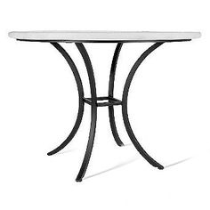 Knf Arenal Round Bistro Table - Pewter, X Oval - Frontgate Patio Furniture Sets, Outdoor Furniture, Furniture Design, Mosaic Patio Table, Geometric Tiles, Tear, The Ordinary, Outdoor Tables, Outdoor Dining