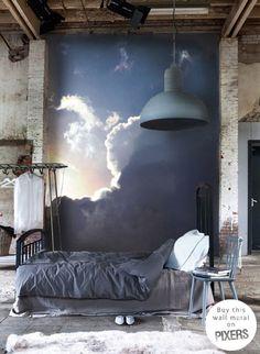 31 fantastiche immagini su Murales per la camera da letto ...