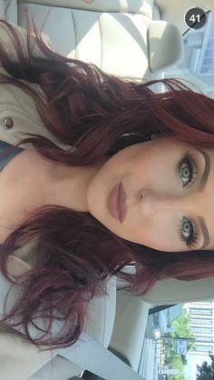 Best Ideas For Makeup Tutorials : Jaclyn Hill makeup Beauty Makeup, Hair Beauty, Red Hair Don't Care, Auburn Hair, Hair Dos, Fall Hair, Pretty Face, Hair Hacks, Makeup Inspiration