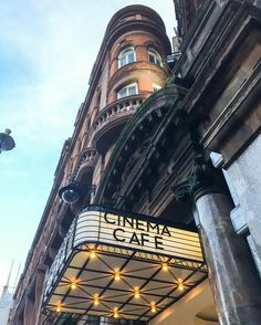 Cinema Cafe, Soho, London