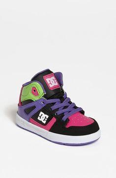 DC Shoes 'Rebound' Skate Shoe (Walker & Toddler) available at #Nordstrom