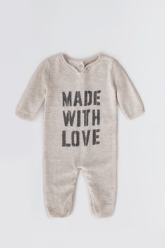 romper for child goodnight snow Zadig&Voltaire