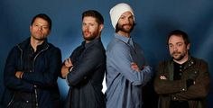 My new favorite picture of the supernatural cast