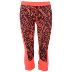 adidas Tech Fit All Over Pattern Three Quarter Tights Womens Sports Direct, Womens Workout Outfits, Fit Women, Third, Tights, Pajama Pants, Pajamas, Adidas, Fitness