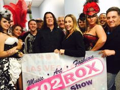 "Nov 14th 4-5pm 702 Rox Show promoting Art, Music and Fashion live on www.vegasallnetradio.com with guests Fashion Designer Charlie Johnston owner of Sin City Steampunk Dolls, musicians PJ Barth, Jay Cee, comedian Lenny Windsor, Fortune Teller Locq with co-hosts Danny Vegas and host Michelle ""Roxy"" Davis"