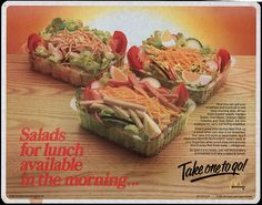 Old School McDonald's Salads