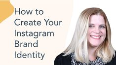 How to Create Your Instagram Brand Identity | Instagram Marketing Tutorial Social Marketing, Inbound Marketing, Linkedin Advertising, Social Business, Business Tips, Learn To Run, Business Articles, Brand Identity, Success
