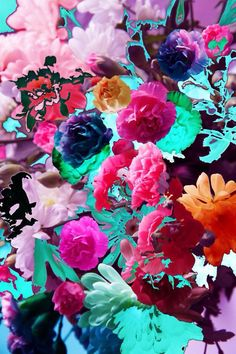 #print #flowers #psychedelic #crazy