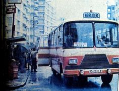 Mithatpaşa Caddesi, Güzelyalı civarı. 1970'li yıllar.