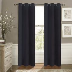 Aquazolax Noise Reducing Insulated Curtains