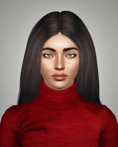 Radiate hairstyle retextured by Royal for Sims 3 - Sims Hairs - http://simshairs.com/radiate-hairstyle-retextured-by-royal/