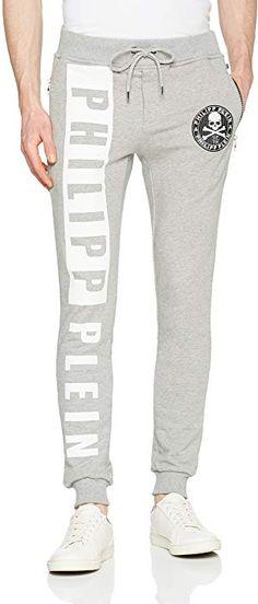2623b62334cc Philipp Plein Pantalon de sport - Homme gris gris Medium  Amazon.fr   Vêtements