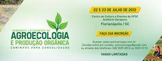 Seminário de Agroecologia e Produção Orgânica, Florianópolis-SC - Rede PSB