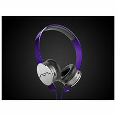 Sol Republic Tracks HD On-Ear Headphones - Stereo - Purple - Mini-phone - Wired - Over-the-head - Binaural - Ear-cup  $99.96