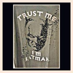 """DC """"Batman"""" Trust me, I'm Batman. #tShirt"""