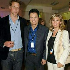 Prince William -Donny & Debbie All I need in this picture is Kevin Costner!