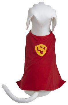 Flytes of Fancy Superdog Cape & Shirt. For super cats, too! #Halloween