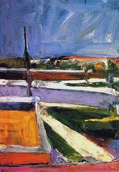 Richard Diebenkorn Untitled Landscape 1957
