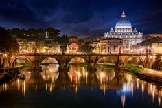 Classic shot of Rome, St Peter's Basilica, Vatican, Rome, Italy by Joe Daniel Price on 500px