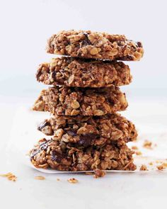 Pecan, Oat, and Dark-Chocolate-Chunk Cookies