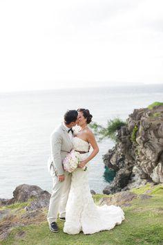 Maui Wedding from Weddings By Sasha Gulish  Read more - http://www.stylemepretty.com/2013/03/27/maui-wedding-from-weddings-by-sasha-gulish/