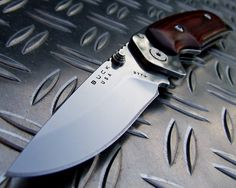 Fancy - Folding Alpha Hunter by Buck Knives