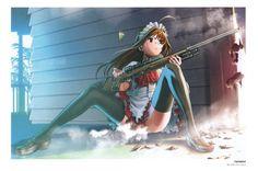 [이미지] 무기x미소녀 조합 이미지 모음(19장) 제8탄 : 네이버 블로그