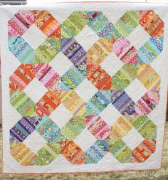 Rainbow Connection quilt pattern PDF
