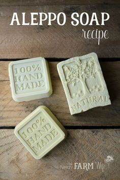Aleppo Soap is an ancient soap recipe that features laurel berry fruit oil and can be useful for those with skin conditions such as eczema, psoriasis, acne & rashes.