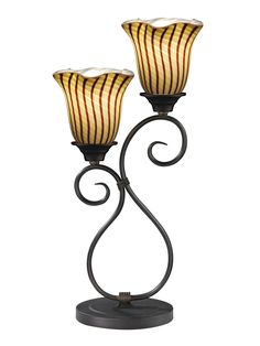 "Valley Glen 21.5"" H Table Lamp with Novelty Shade"