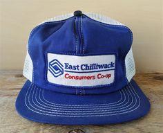 6c4bfead2b07d eBay. Vtg EAST CHILLIWACK CONSUMERS CO-OP Mesh Trucker Hat K Brand Canada Snapback  Cap  KBrand  BaseballCap