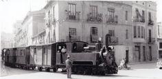 """La """"Panderola"""" a su paso por las calles de Onda. 1961"""