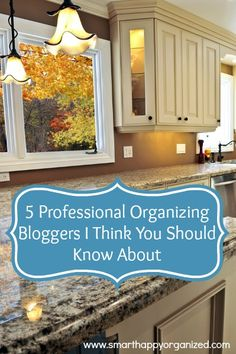 5 Professional Organizing Bloggers I Think You Should Know About http://bit.ly/1XT5Xfe #professionalorganizers #organizingbloggers