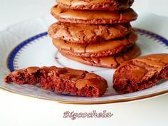 Brownie cookies o galletas de brownie