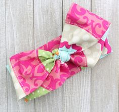 Southern Sass Wrap  Baby Headwrap Top Knot by BrittsBowtiqueVA