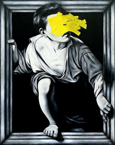 Petra von Kazinyan, Escape (After Pere Borrell del Caso), 2014 Caravaggio, Petra, Batman, Poses, Superhero, This Or That Questions, Gallery, Painting, Fictional Characters