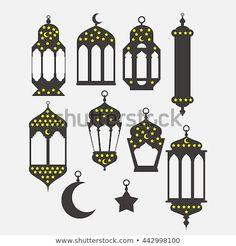 Ramadan Kareem - Islamic Holy Nights, Theme Design background, Ramadan latern, saint fest, arabian and turk religion culture set Eid Crafts, Ramadan Crafts, Paper Crafts For Kids, Eid Adha Mubarak, Happy Eid Mubarak, Holy Night, Decoraciones Ramadan, Ramadan Lantern, Arabic Decor