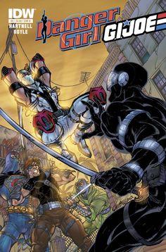 Danger Girl G.I. Joe #5 - J. Scott Campbell cover