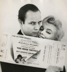 Milton Greene 'Marilyn Monroe and Marlon Brando' The Rose Tattoo 1955