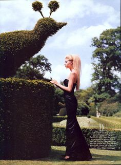 Cliveden House by Arthur Elgort, 1995.