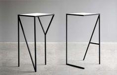 FAKTURA DESIGN, NY & LA TALL TABLE: someday when i'm bicoastal. except maybe sf > la.