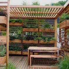 Verticle garden from: Grow Veg