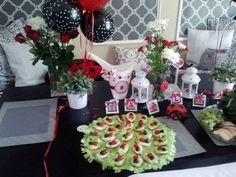 "Photo 39 of 45: Lady Bug Birthday / Birthday ""1st Lady Bug Birthday Party"" | Catch My Party"