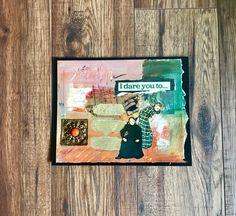 Collage Art Original Art Art Quotes by DeniseCerroStudio on Etsy