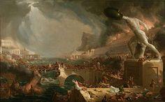 Destruction - Thomas Cole