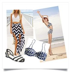 Designer Clothes, Shoes & Bags for Women Nautical Looks, Zig Zag, Sailor, J Crew, Cover Up, Shoe Bag, Polyvore, Stuff To Buy, Shopping